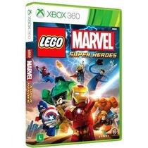 Game Lego Marvel Super Heroes - Leg Português- Xbox 360 Novo