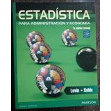 Estadistica Para Administracion Y Economia ¡envío Gratis!