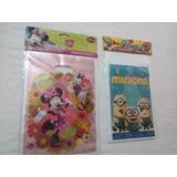 Bolsa Disney Piñata Fiesta Infantil Minie Mause Minios Y +