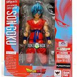 Figura S H Figuarts Ssgss Super Saiyan God Goku Dragonball Z