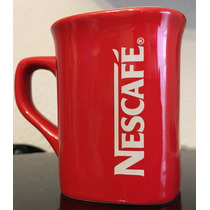 Set De 4 Tazas Rojas Nescafé