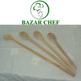 Cuchara Madera 60 Cm - Bazar Chef