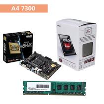 Kit Gamer A4 7300 + Asus A68hm-k + Memória Ddr3 4gb !