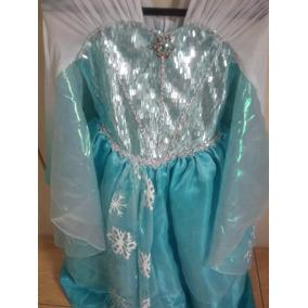Vestido Da Pricesa Elsa ( Infantil)