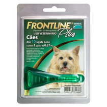 Anti Pulgas Frontline Plus Cães Até 10 Kg Merial
