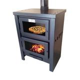Qutral, Salamandra, Estufa, Calefactor A Leña 22000 C/horno