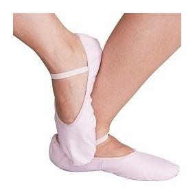 Sapatilha 1/2 Ponta Lona Infantil Ballet Dança Fantasia