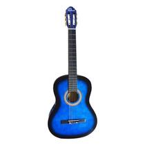 Guitarras Clásica + Forro Y Jgo Cuerdas Negra, Roja, Azul