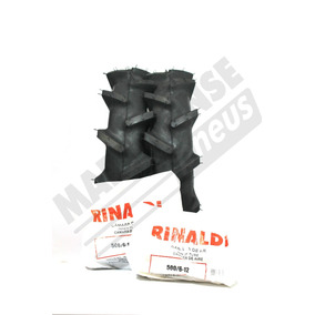 Kit 2 Pneus + Camaras 500/6-12 Firestone Tobata Tc 12 Tc14