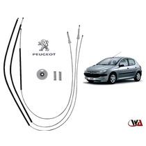 Peugeot 206- Sw Kit Reparo Vidro Eletrico Dianteiro