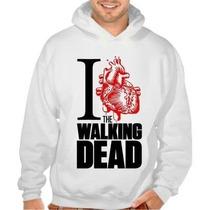 Blusa The Walking Dead Casaco Canguru Moleton Unissex