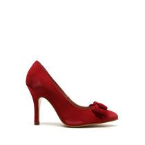 Andrea - Zapatilla Scarpin Roja - Rojo - 15457rogam