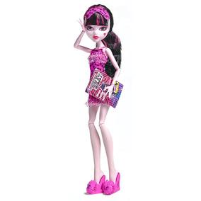 Monster High Muñeca Draculaura Dead Tired Mattel 2012 Nueva