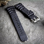 Dive Watch Band, For Seiko Z20 Monster, Black, !