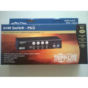 Tripp-lite Kvm Switch Ps/2 -4 Ptos Modelo B005-004-r Nuevo