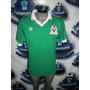 Tremendo Jersey Retro México Adidas Mundial 1986