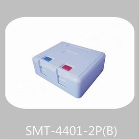 Cajetin Superficial 2 Puertos Smt-4401-2p(b)