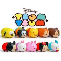 Tsum Tsum Vinil 10 Peças - Original Disney Mickey, Minnie