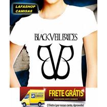 Camisa Bvb Banda Black Veil Brides Baby Look Camisa Feminina