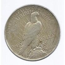 Usa 1 Dolar Peace 1922 Plata