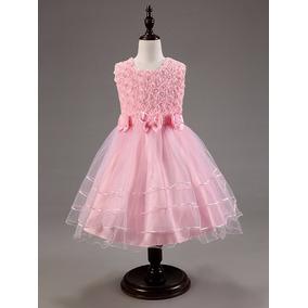 Vestido Vesta Princesa Daminha Aniversario Pronta Entrega