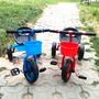 Triciclo Con Pedales Y Canasto 77x56x45 Cm - Hay De Todo!