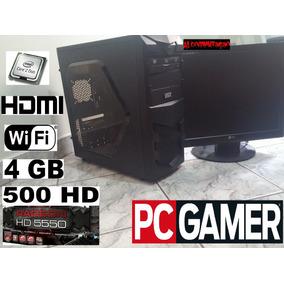 Computador, Pc, Pc Gamer, Core 2 Duo, 4 Gb Ram, Hd 500