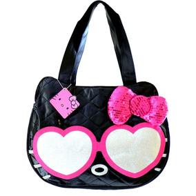 Hello Kitty Bolsa Estilo Tote Face Acolchada Sanrio Original