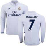 Camisa Manga Larga 2017 Barcelona Messi Real Madrid Ronaldo