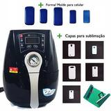 Prensa Mini 3d Kit Completo P Sublimação Capa Celular Caneca
