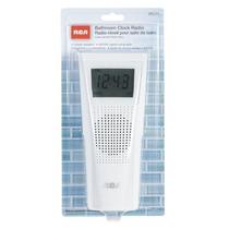 Rca Brc11 Am / Fm Radio Reloj Baño