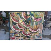 Sandias Pintura Al Oleo Arte Contemporánea