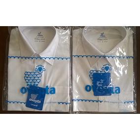 Camisa Escolar Blanca Ovejita Y Hrd