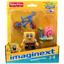 Juguetes Figuras Bob Esponja Spongebob-squarepants Azul