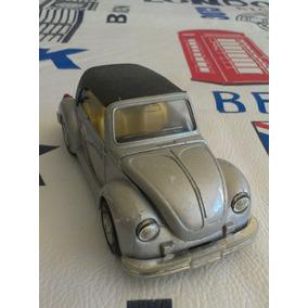 Volkswagen Bug Pull Back Wind Up Metal Carro Tt -101 Scale 1
