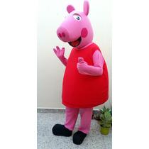 Alquiler Disfraz Cabezon Peppa Pig Sapo Pepe Owlette Catboy