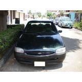 Tapa De Baul Ford Escort Modelo 1997/2002 4 Ptas Original