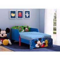 Cama Infantil De Madera De Lujo Mickey Mouse