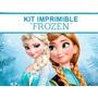 Kit Imprimible Frozen X 3 + Música De Frozen