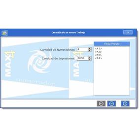 Programa Numerador Para Imprentas Gráficas Trabaja Con Corel