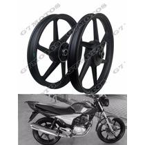 Roda Moto Liga Leve Modelo 150 Para Titan Fan 125 150 160