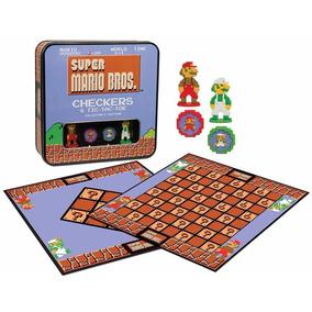 Juego Damas Y Gato Mario Bros De Colección! Envío Gratis!!!