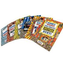 Colección ¿dónde Está Wally? 6 Libros Y Rompecabezas Unica