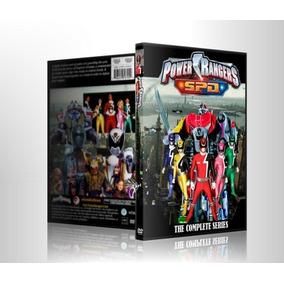 Dvds Power Rangers Spd Super Patrulha Delta