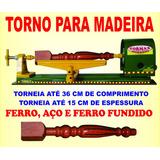 Torno Hobby Para Madeira 60 Cm