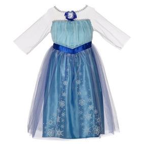 Disney Congelado Encantador Vestido - Elsa, 4-6 X