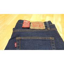 Pantalón Levis 513 Original Azul Obscuro
