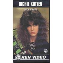 Richie Kotzen - Rock Chops Tablatura Partitura Libro