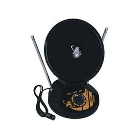 Mini Antena Digital Parabólica Interna Uhf Vhf Fm Hdtv 1035