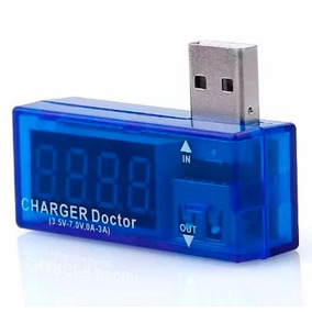 Testador Usb Digital Carregador Celular Voltagem E Amperagem